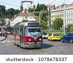 prague  czech republic   may 16 ... | Shutterstock . vector #1078678337