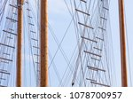 masts and ropes | Shutterstock . vector #1078700957