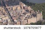 aerial  flying above upper west ... | Shutterstock . vector #1078705877
