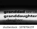 granddaughter word in a...   Shutterstock . vector #1078706159