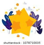 vector illustration on white... | Shutterstock .eps vector #1078710035