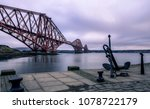 long exposure of the forth rail ... | Shutterstock . vector #1078722179