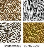 pattern of animal print  ...