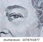 extreme macro detail eye shot... | Shutterstock . vector #1078741877