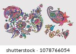 paisley. a pattern based on the ... | Shutterstock .eps vector #1078766054