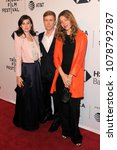 Small photo of NEW YORK, NY - APRIL 23: (L-R) Maria Breese, Scott Lastaiti and Sophia Corra attend the screening of 'Untogether' during the 2018 Tribeca Film Festival at SVA Theater on April 23, 2018 in NYC.