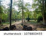 most south sanctuary prasat...   Shutterstock . vector #1078803455