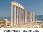 ruins of the ancient town... | Shutterstock . vector #1078819307
