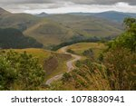robber's pass outside the town... | Shutterstock . vector #1078830941