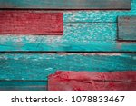 old wooden background patched... | Shutterstock . vector #1078833467