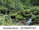 gertelbachf lle waterfalls...   Shutterstock . vector #1078839764
