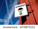 cryptocurrency free token... | Shutterstock . vector #1078875131