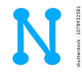 vector network icon  ... | Shutterstock .eps vector #1078932581