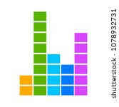 sound volume wave illustration  ...   Shutterstock .eps vector #1078932731
