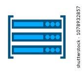 server data racks   computer... | Shutterstock .eps vector #1078932857