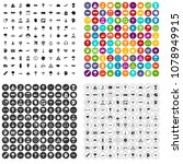 100 aviation icons set vector... | Shutterstock .eps vector #1078949915