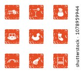 make a playground icons set.... | Shutterstock .eps vector #1078959944