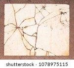 background tiles old  old... | Shutterstock . vector #1078975115