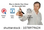 marketing your home | Shutterstock . vector #1078979624
