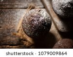 homemade delicious chocolate... | Shutterstock . vector #1079009864