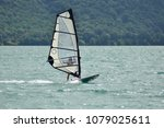 surf with windsurfing | Shutterstock . vector #1079025611