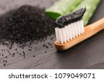 Toothbrush With Black Charcoal...