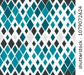 random black and blue geometric ... | Shutterstock .eps vector #1079072624