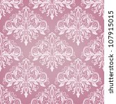 Damask Seamless Pattern For...