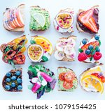 toast party   toasted sourdough ...   Shutterstock . vector #1079154425