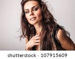 amazing studio portrait of... | Shutterstock . vector #107915609
