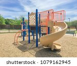 close up colorful playground in ... | Shutterstock . vector #1079162945