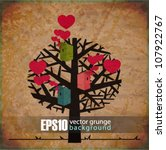 Eps10 Vintage Background With...