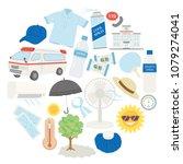 preventive measures against... | Shutterstock .eps vector #1079274041