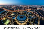 an aerial view taken with a... | Shutterstock . vector #1079297654