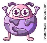 strange monster icon. cartoon... | Shutterstock .eps vector #1079322584
