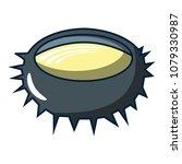 sea urchin icon. cartoon... | Shutterstock .eps vector #1079330987