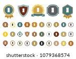 vector refrigerator icon | Shutterstock .eps vector #1079368574