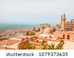 mardin old town at dusk.... | Shutterstock . vector #1079373635
