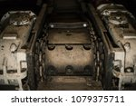 conveyor scraper slag into a... | Shutterstock . vector #1079375711