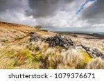 the derelict farmhouse of top... | Shutterstock . vector #1079376671