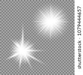 bright light glare on a... | Shutterstock .eps vector #1079444657