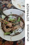 Small photo of rice noodles thicken soup in Rangsit ,Patumthani,Thailand
