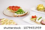 toast on white background | Shutterstock . vector #1079451959