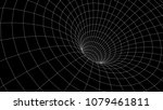 tunnel or wormhole. abstract... | Shutterstock .eps vector #1079461811