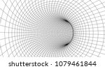tunnel or wormhole. abstract... | Shutterstock .eps vector #1079461844