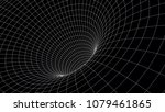 tunnel or wormhole. abstract... | Shutterstock .eps vector #1079461865