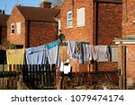 deprived area of living people... | Shutterstock . vector #1079474174