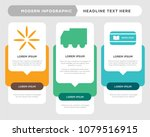 book now business infographic...   Shutterstock .eps vector #1079516915