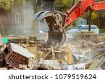 Demolition Of An Old House. For ...