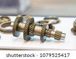 high precision hot forging... | Shutterstock . vector #1079525417